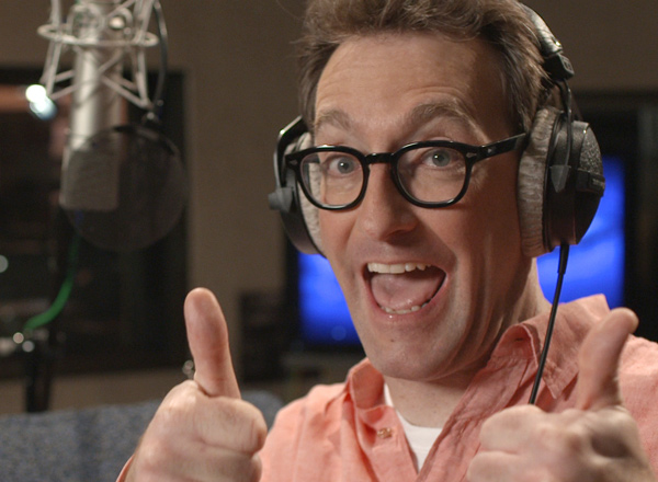 Tom Kenny voices a Popsicle® contest